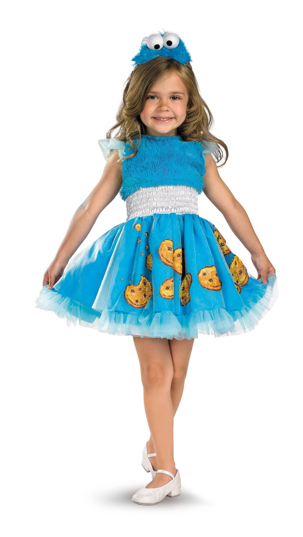 Cookie Monster Frilly Toddler Costume 3T-4T - Baby World Inc