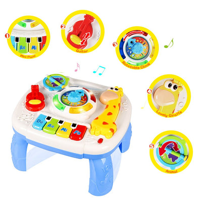 Baby Toys Musical Learning Table 6 Months Up - Baby World Inc
