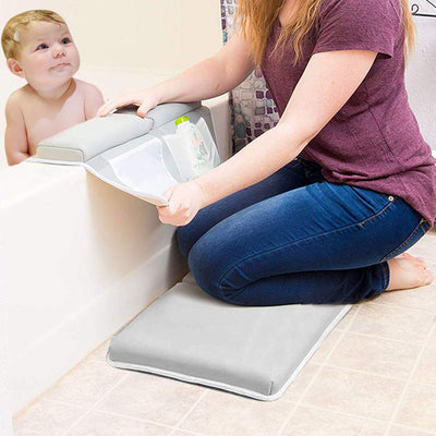 Bath Kneeler with Elbow Rest Pad Set - Baby World Inc