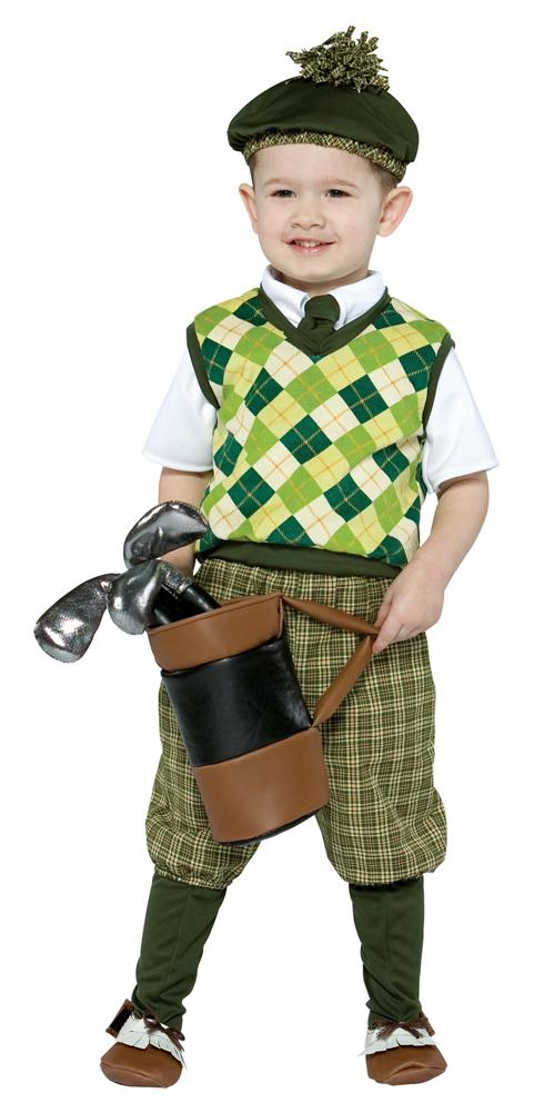 Future Golfer Toddler Costume 3T-4T - Baby World Inc
