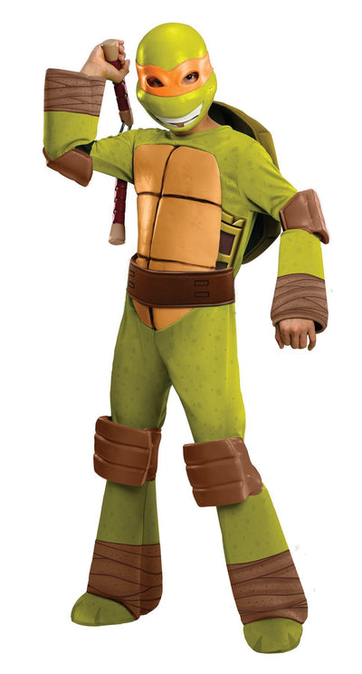 Tmnt Michelangelo Boys Costume Md - Baby World Inc