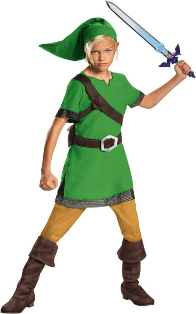 Link Classic Boys Costume 7-8 - Baby World Inc