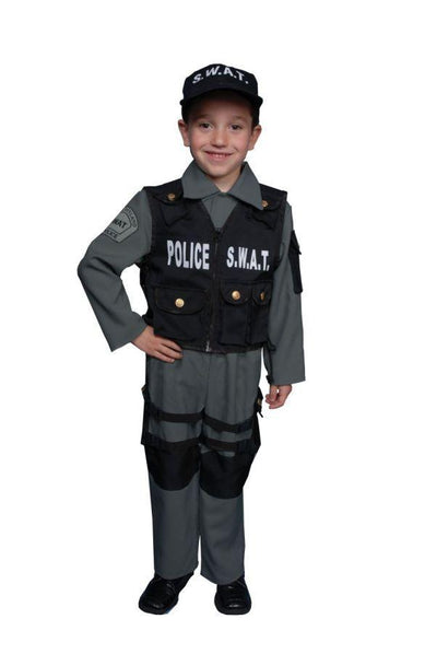 S W A T  Boys Costume Large - Baby World Inc