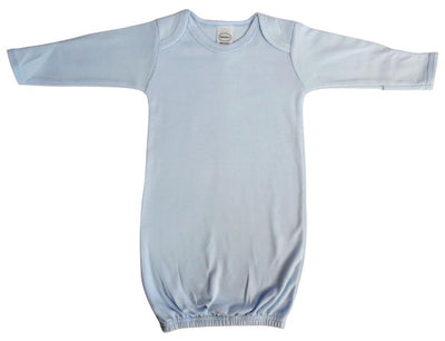 Bambini Infant Blue Gown - Baby World Inc