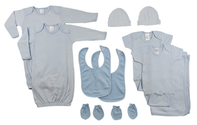 Bambini Boys 8 Piece Layette Set - Baby World Inc
