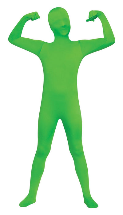 Skin Suit Green Boys Costume 8-10 - Baby World Inc