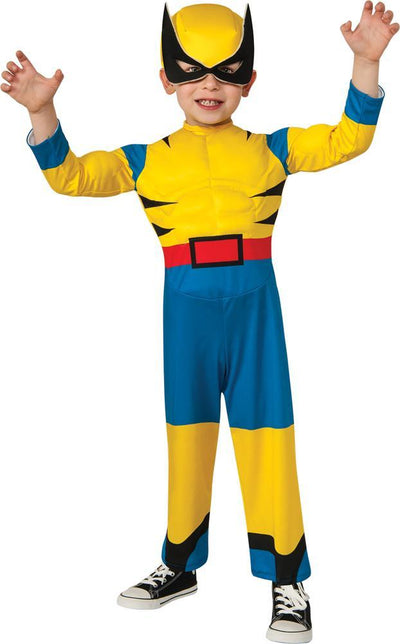 Wolverine Toddler Costume 1T-2T - Baby World Inc
