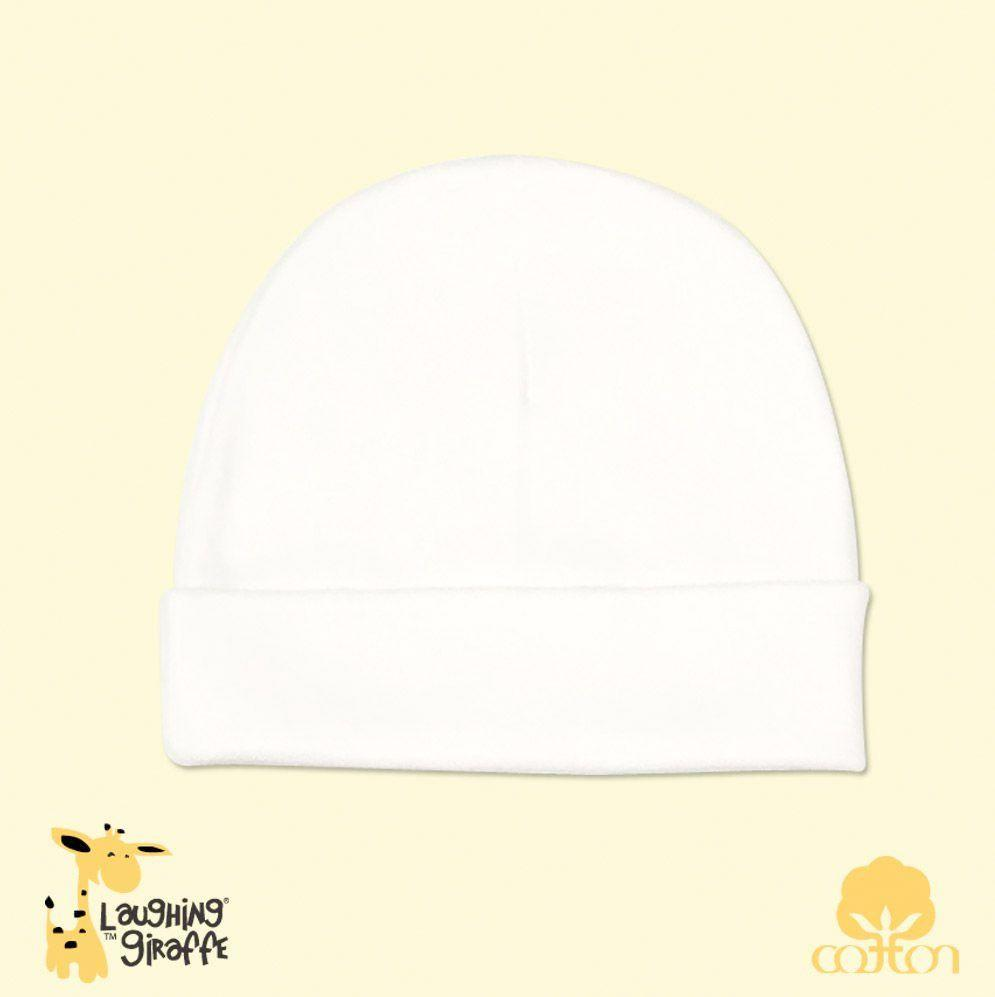 Baby Beanie Hat - White - Baby World Inc