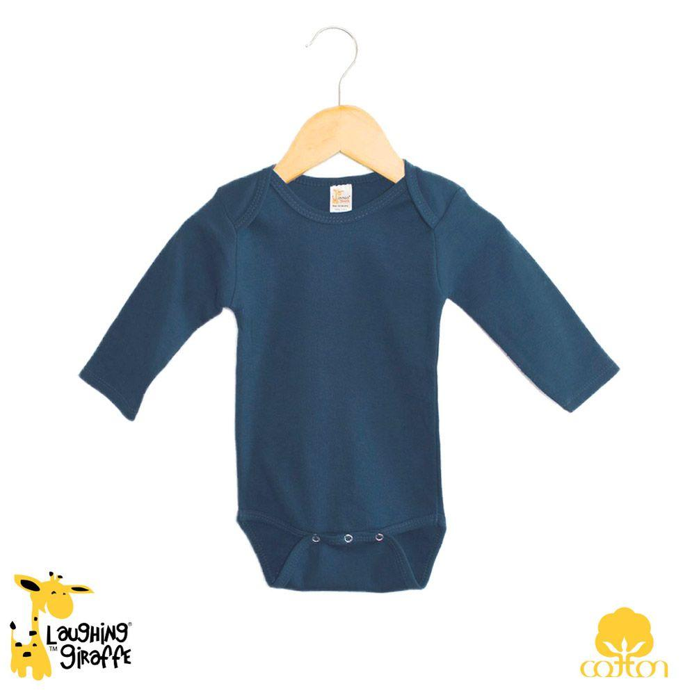 Baby L/S Onesies - Dark - Baby World Inc