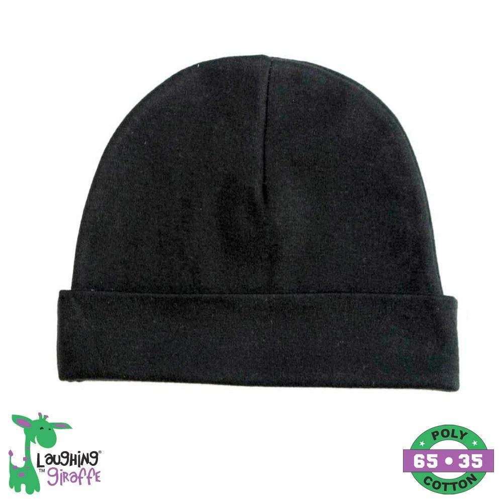 Baby Beanie Hat - Black - Baby World Inc