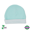 Baby Beanie Hat - Mint Ringer - Baby World Inc