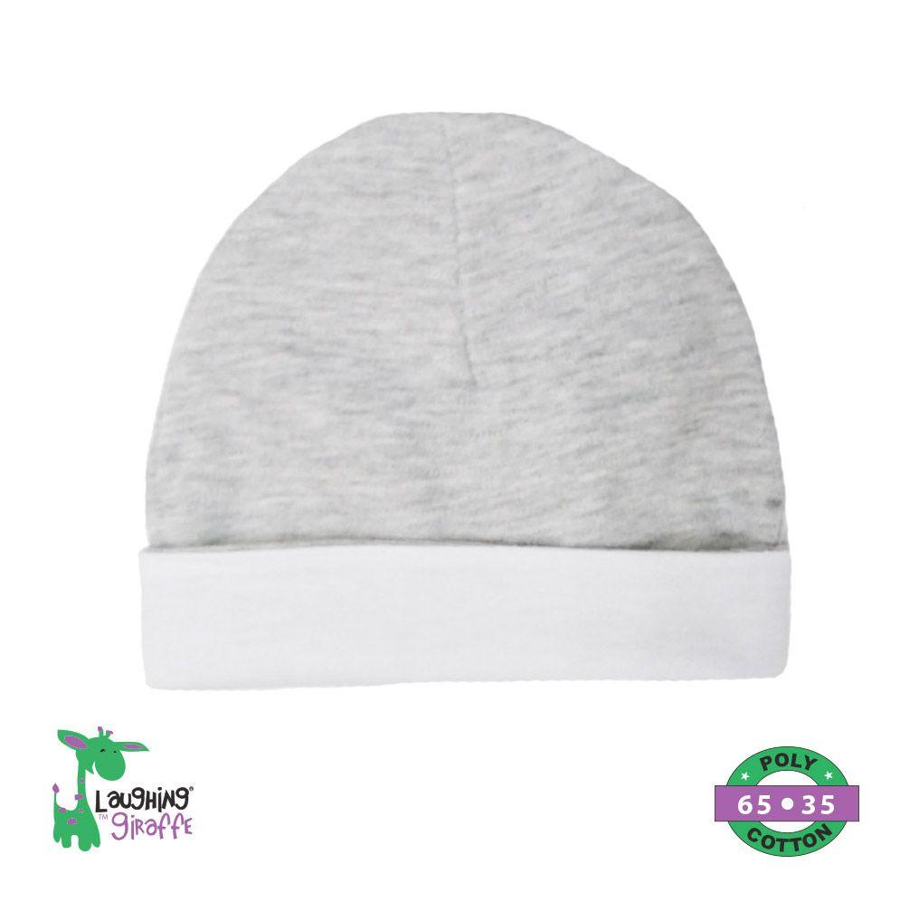 Ringer Beanie Hat - Gray - Baby World Inc