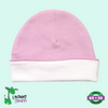 Baby Ringer Beanie Hat - Pink - Baby World Inc