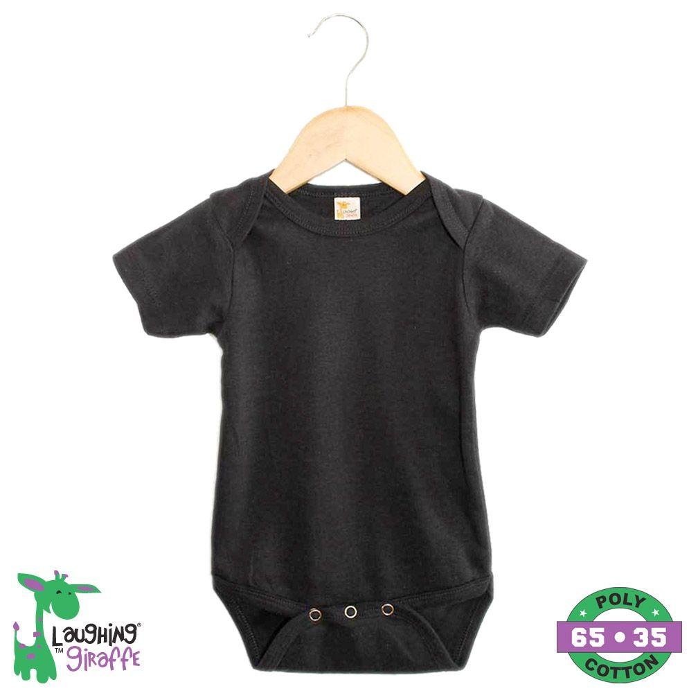 Baby S/S Onesies - Black - Baby World Inc