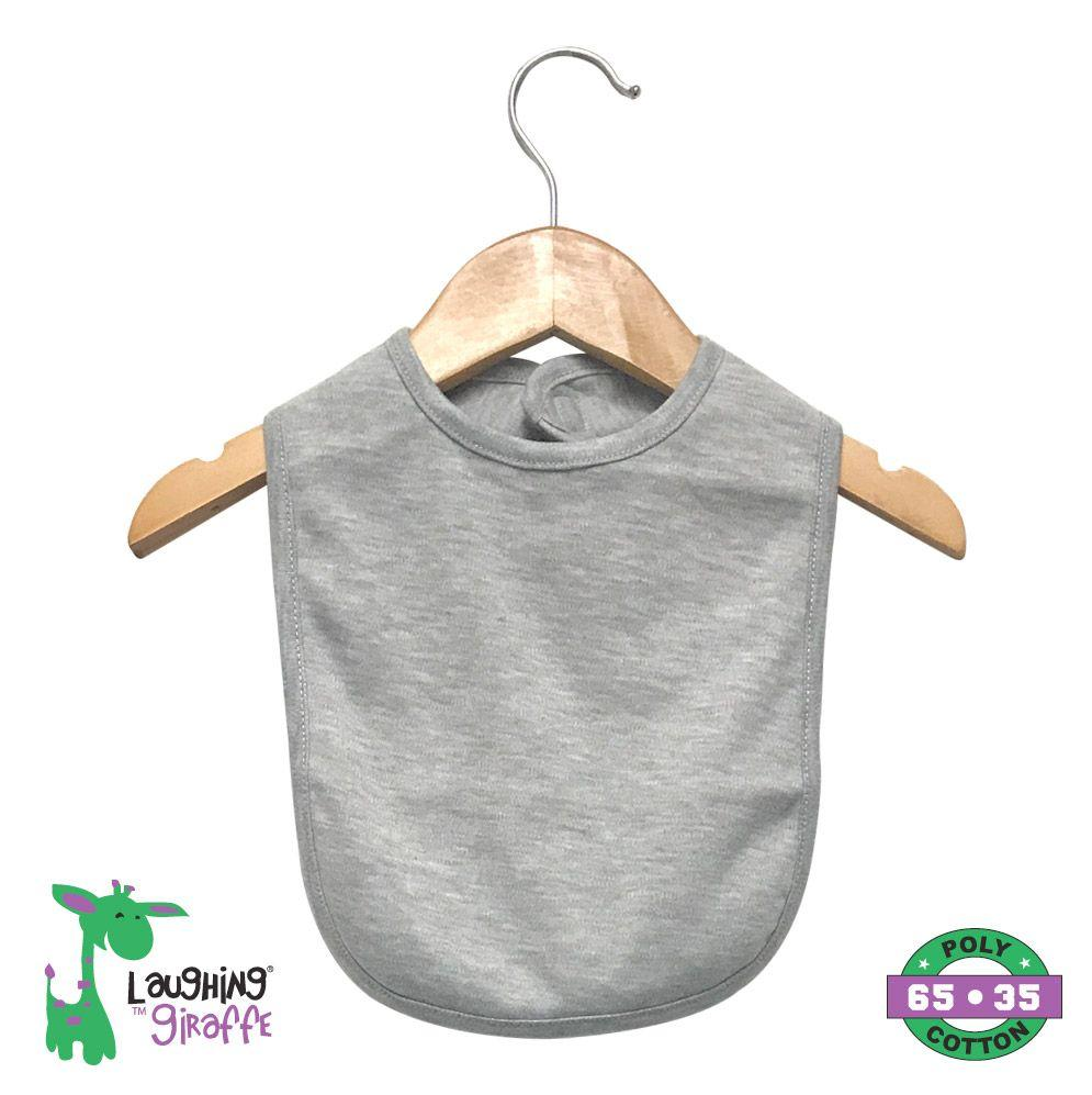 Bib 2 Ply w/ Velcro - Heather - Baby World Inc