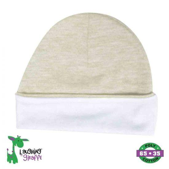 Ringer Beanie Hat - Oatmeal - Baby World Inc