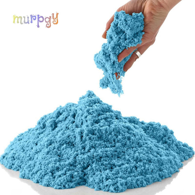 100g Dynamic Sand Toy Colored Soft Magic Slime Sand - Baby World Inc