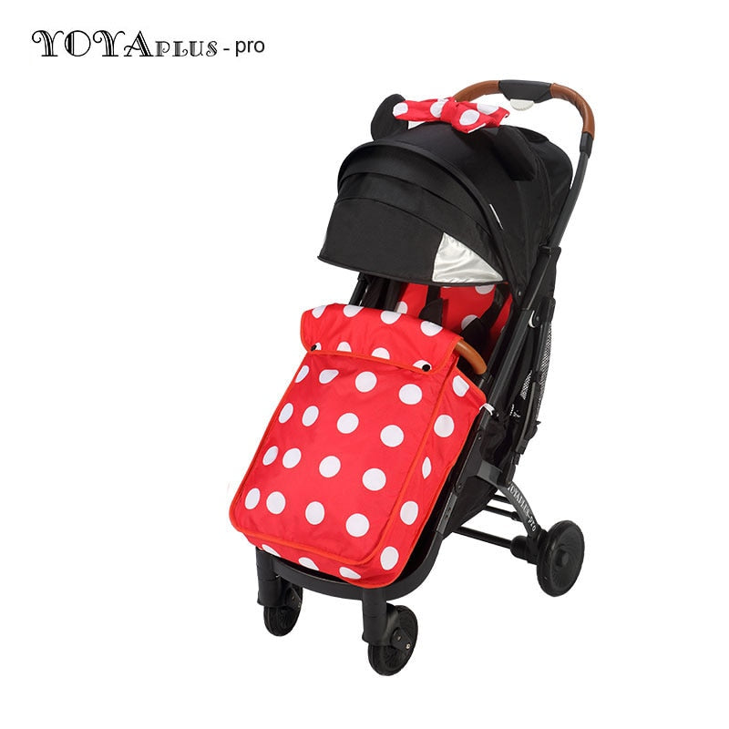 Yoyaplus-Pro Baby Stroller with Foot Cover - Baby World Inc