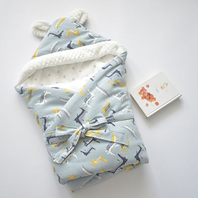 MOTOHOOD Winter Blankets Newborn Swaddle Muslin Cotton Stroller Blankets - Baby World Inc