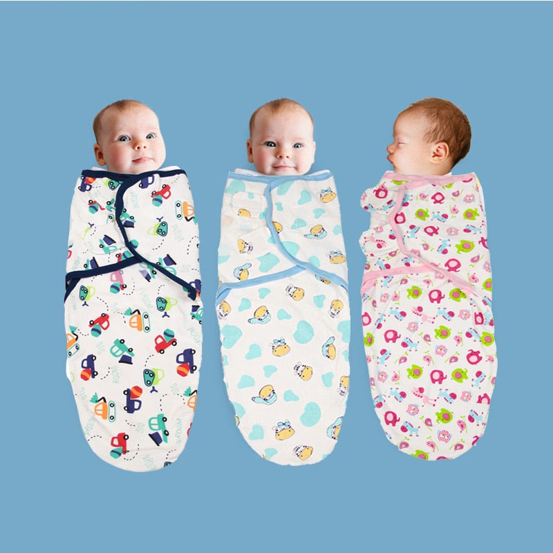 Cotton Baby Swaddle Wrap - Baby World Inc