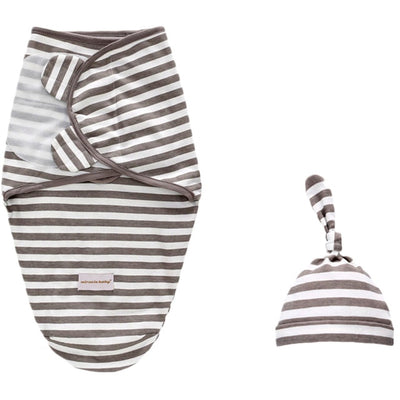 Baby Swaddle Cotton Infant Cocoon Sleep 0-6 Month - Baby World Inc