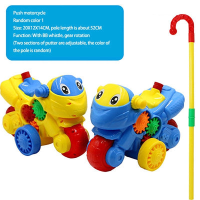 Toddler Hand Push Toy - Baby World Inc