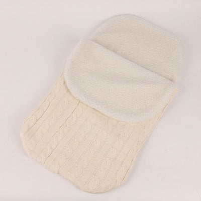 Thick Baby Swaddle Wrap Knit Envelope Newborn - Baby World Inc