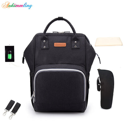 Ergonomic Multi-function Diaper Bag - Baby World Inc