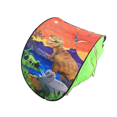 Bed Tent Portable Playhouse Cartoon Design - Baby World Inc