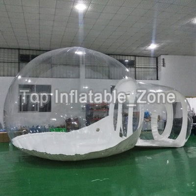 Inflatable Bubble House 3M/4M/5M Dia Outdoor Bubble Tent For Camping PVC Bubble Tree Tent/Igloo Tent Free Fan - Baby World Inc