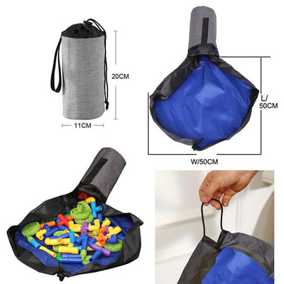 1.5M Portable Toy Storage Bag and Play Mat - Baby World Inc
