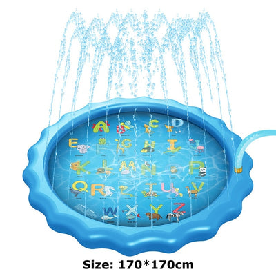 170 cm Inflatable Water Mat Water Spray Pad - Baby World Inc