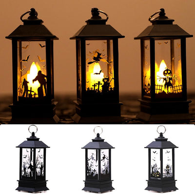 QIFU Halloween Lantern Lights Ornaments Halloween Party Decor - Baby World Inc