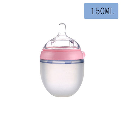 Bottle for Breastmilk Wide Neck Soft Silicone Nursing Bottles - Baby World Inc