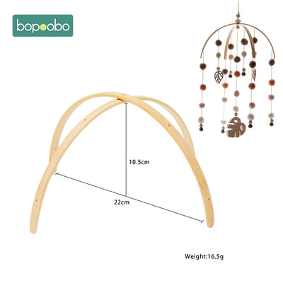Bopoobo 1 Set Baby Mobile Crib Hanger Baby Rattle - Baby World Inc