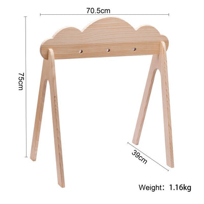 1 pc Wooden Gym Crib Mobile Newborn Toys - Baby World Inc