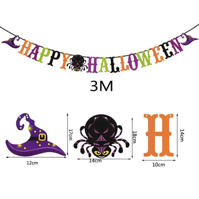 Halloween Balloon Garland Arch Kit Helium Balloons foil Set for Halloween Day Party - Baby World Inc