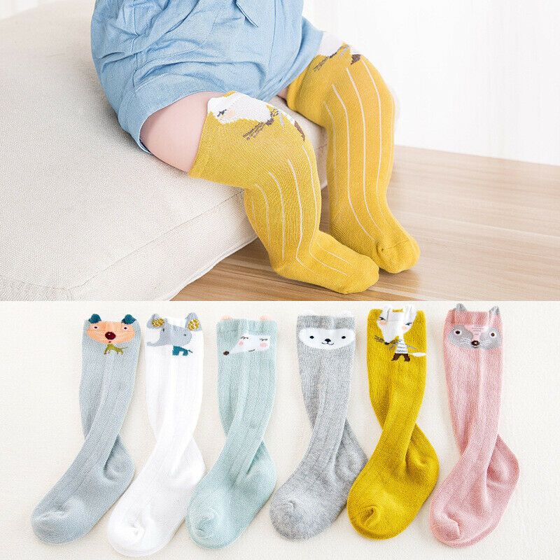 New Baby Boys Soft Leg Leggings Warmer Toddler Knee Long Socks Baby Autumn Winter Girls Stocking - Baby World Inc