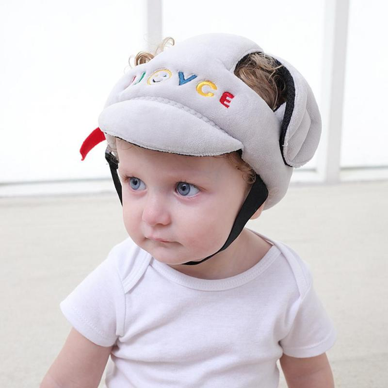 Anti-collision Protective Head Cover Soft Protective Helmet Anti-falling Cap - Baby World Inc