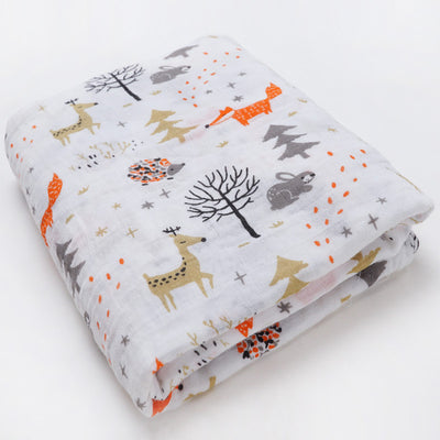Cotton Receiving Baby Blanket - Baby World Inc