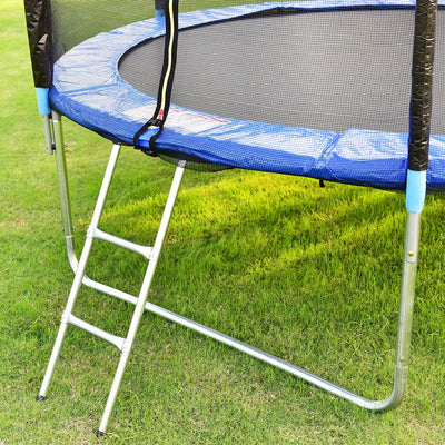 10 ft Combo Bounce Jump Safety Trampoline with Spring Pad Ladder C98 - Baby World Inc