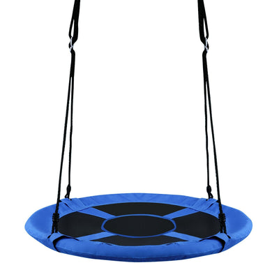 "40"" Flying Saucer Tree Swing Indoor Outdoor Play Set-Blue C51 - Baby World Inc"