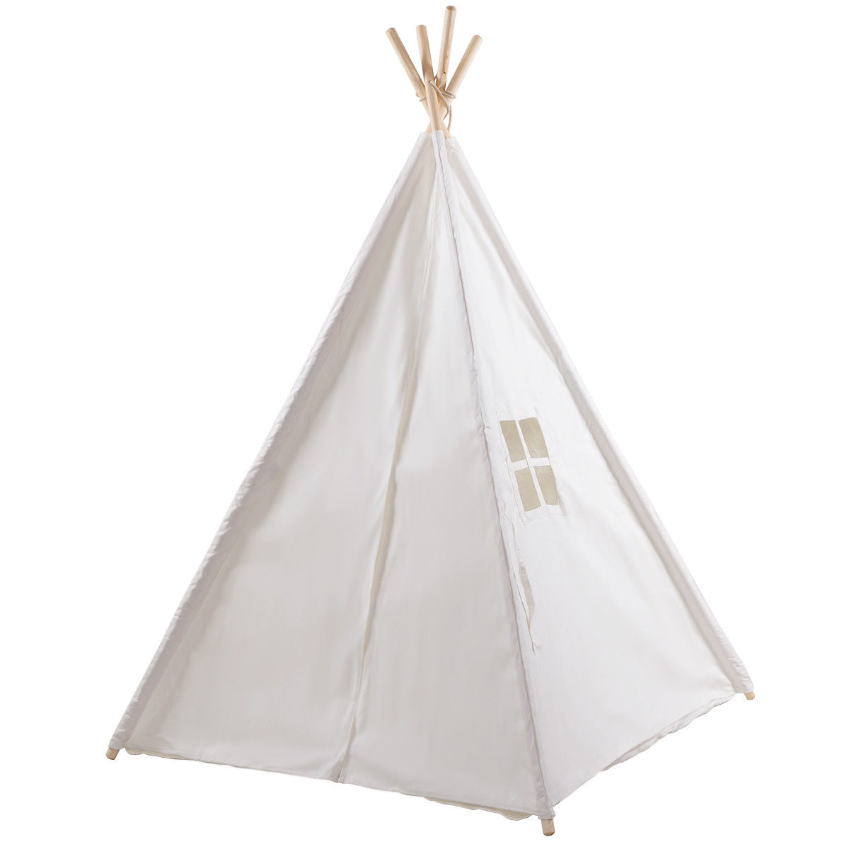 5' White Portable Indian Sleeping Dome Tent C59 - Baby World Inc