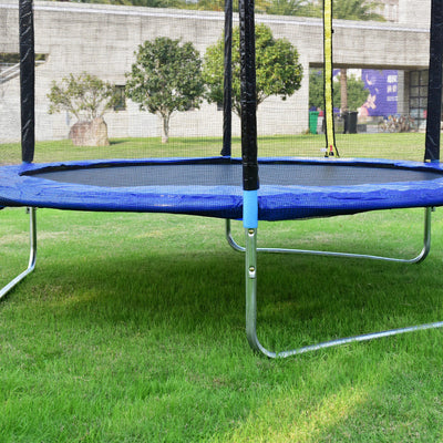 8 ft Safety Round Trampoline with Spring Safety Pad C97 - Baby World Inc