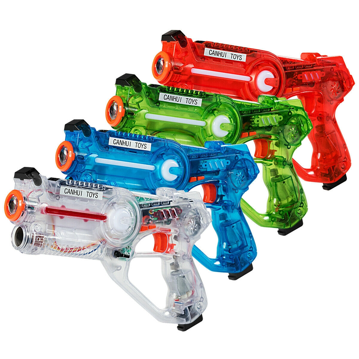 4-set Infrared Laser Tag Guns Battle Blasters Mega Pack C107 - Baby World Inc
