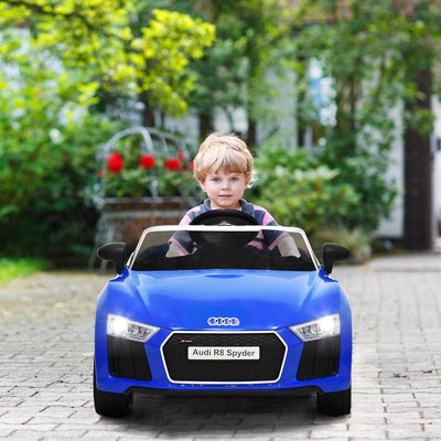 Audi Spyder 12V Ride on car Remote Controlled Car for kids - Blue C281 - Baby World Inc