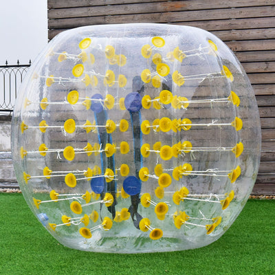 1.5M Dia 5' PVC Inflatable Ball Yellow C6 - Baby World Inc