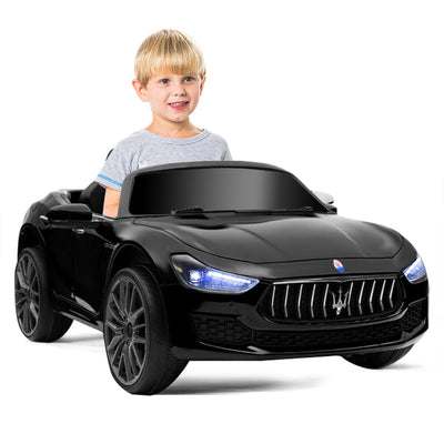 Maserati 12V Ride on car Remote Controlled for kids - Black C272 - Baby World Inc
