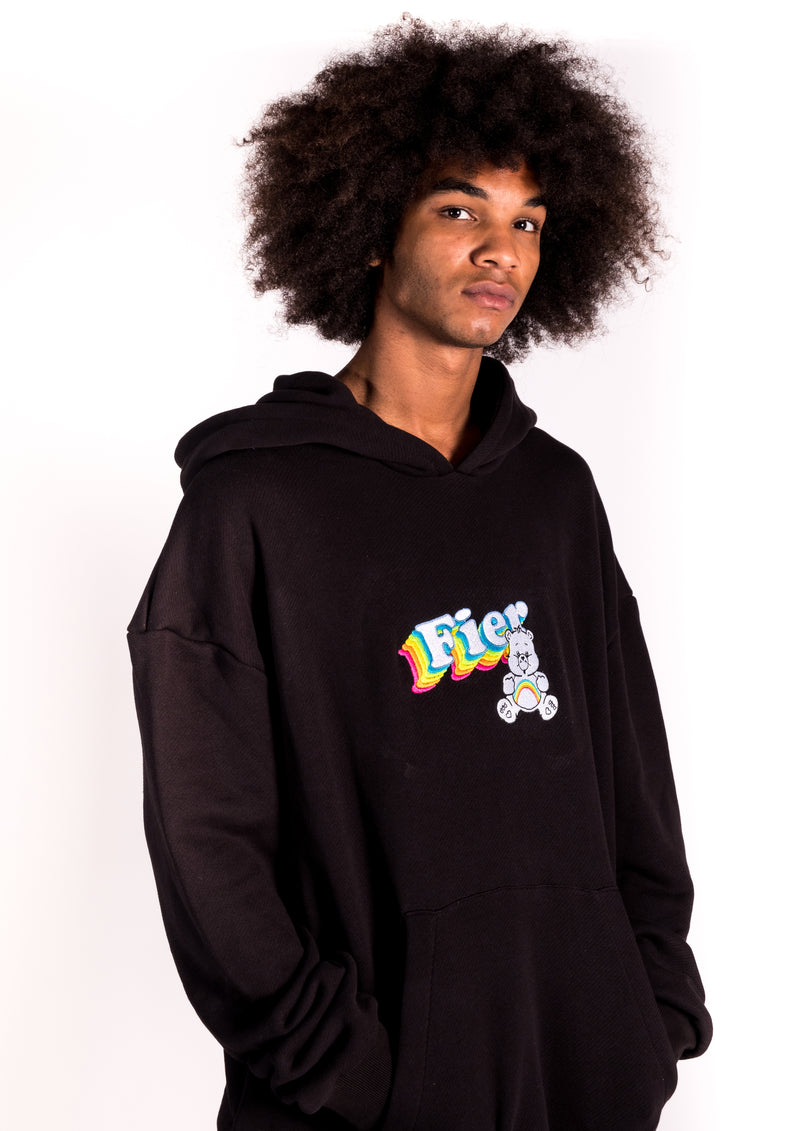 CARE BEAR OVERSIZED HOODIE