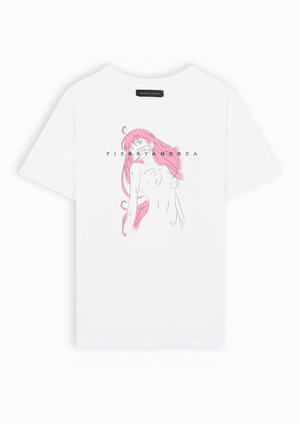 Japanese Pink lady Tee
